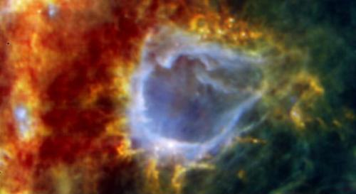 Photo from Herschel space observatory
